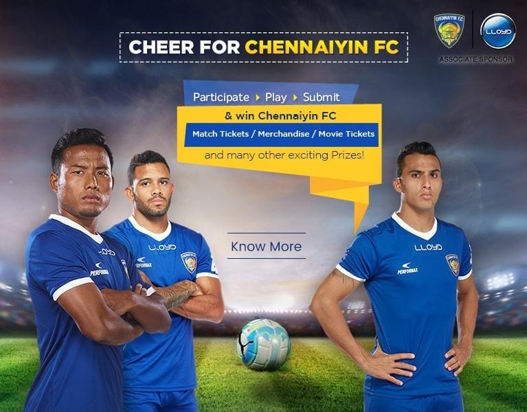 Cheer for Chennaiyin FC