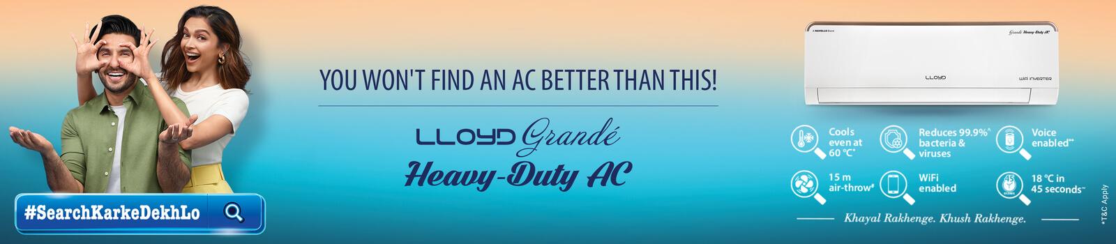 LLOYD Heavy Duty AC new